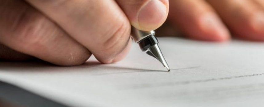 Firma in stampatello è valida?