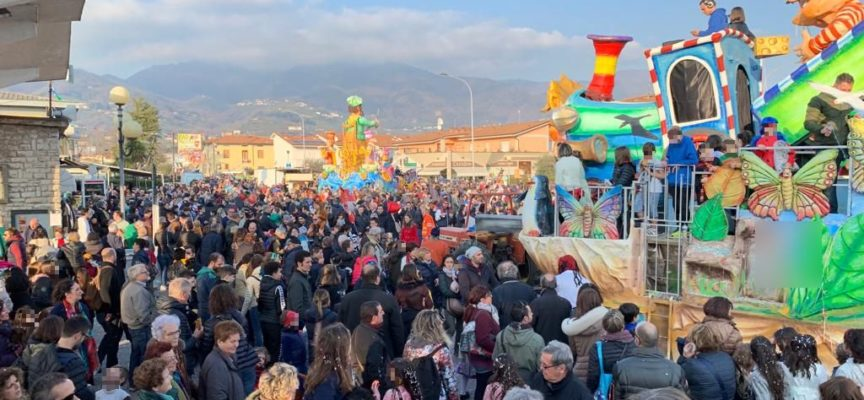 primo corso mascherato del CarnevalMarlia 2020