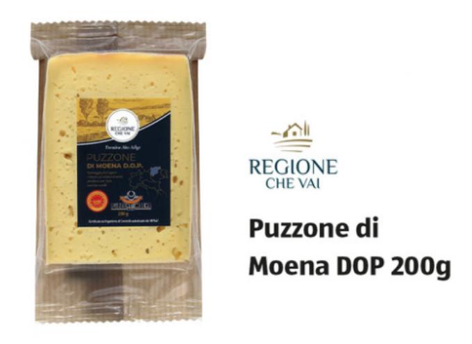 ALDI richiama per rischio Listeria monocytogenes il formaggio Puzzone di Moena DOP 200g.