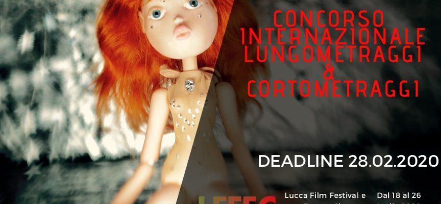 """""""Lucca Film Festival e Europa Cinema"""" edizione 2020: aperte le iscrizioni ai concorsi internazionali per lungometraggi e cortometraggi"""