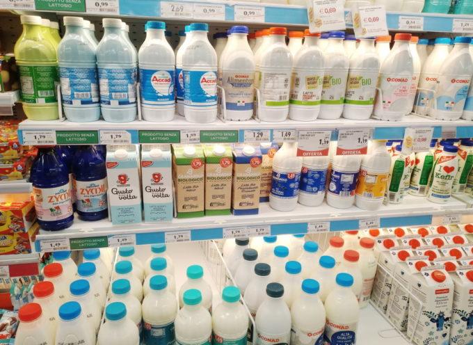 Il latte italiano è pieno di antibiotici e farmaci