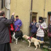 La festa di Sant'Antonio Abate a Fornaci, protettore degli animali