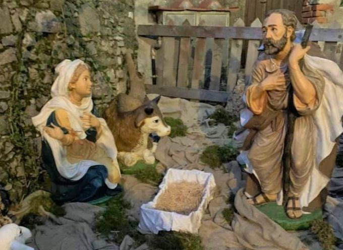 Coreglia: furto sacrilego nel presepe
