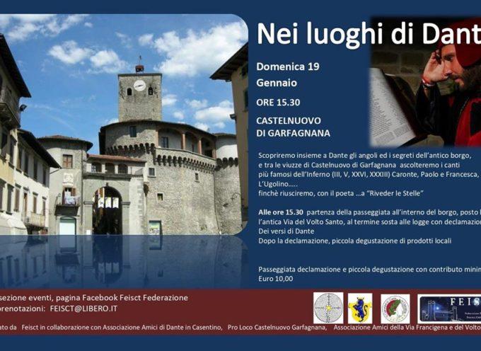 Nei luoghi di Dante, a Castelnuovo di Garfagnana