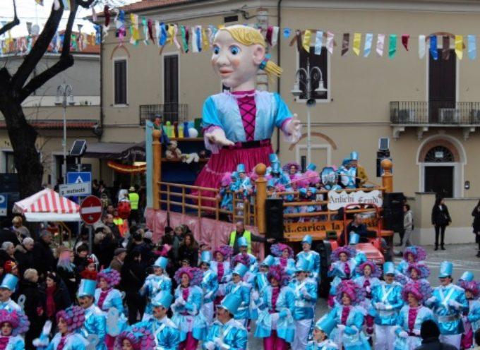 Carnevale Pietrasantino, secondo corso dei carri di cartapesta