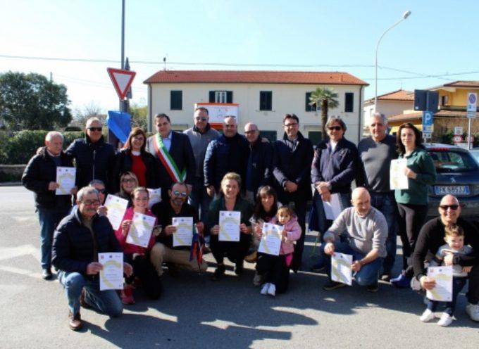 anche Ponterosso è Cardioprotetta, inaugurato defibrillatore donato dal Comitato cittadino