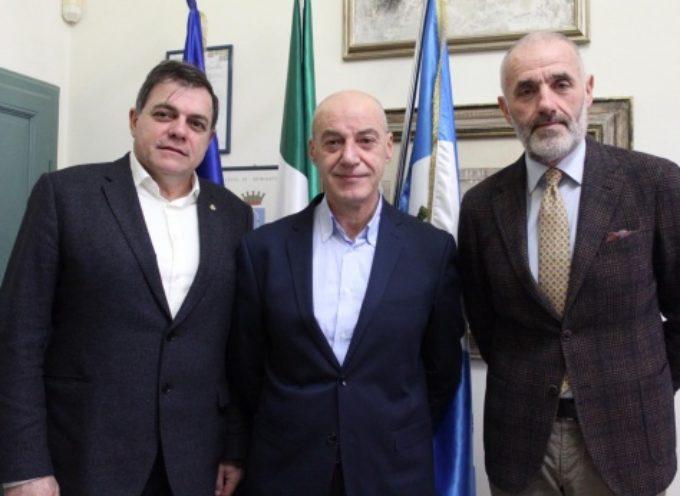 Questore e nuovo dirigente commissariato incontrano il Sindaco, si rafforza patto collaborazione