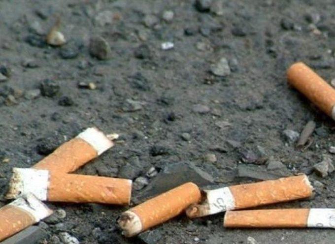 Tutela dell'ambiente: domenica 23 febbraio volontari in piazza San Michele a raccogliere i mozziconi di sigaretta