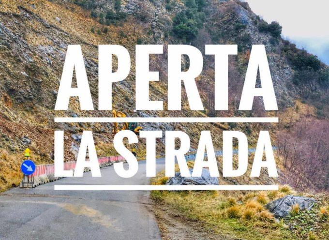 RIAPERTA LA STRADA CAREGGINE –  ISOLA SANTA