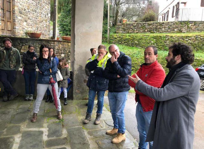 Proficuo incontro stamattina a San Romano con gli abitanti del paese e di Motrone.