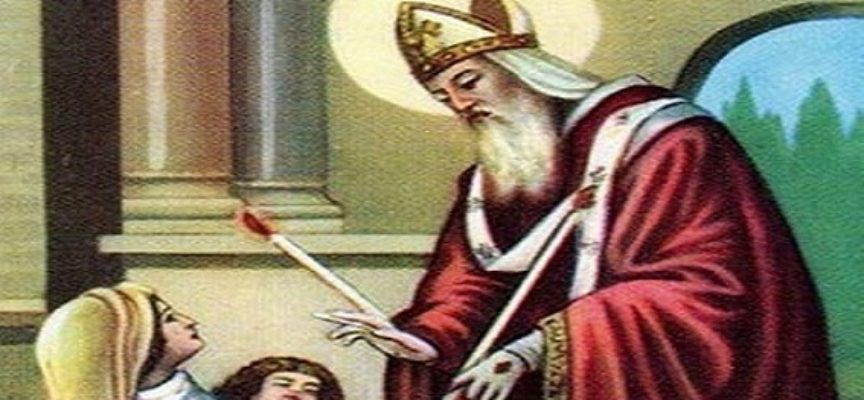 Oggi la Chiesa ricorda SAN BIAGIO e la tradizione popolare, molto sentita, della benedizione della gola.