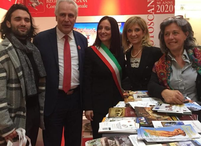 """BORGO A MOZZANO – Una delegazione del nostro Comune è presente a """"Tourisma 2020"""","""