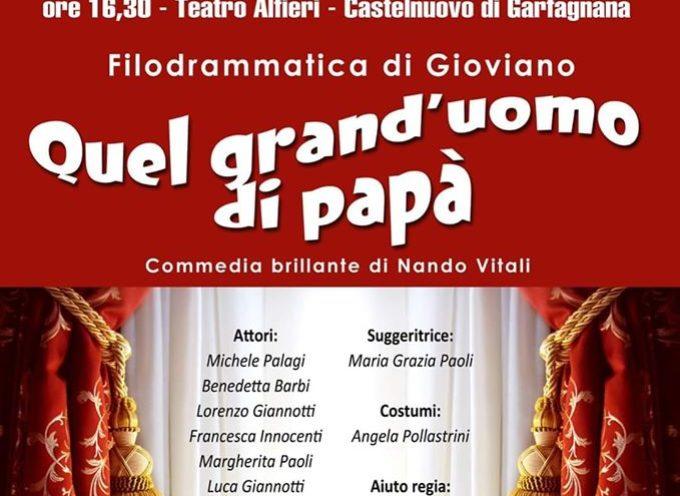 il Teatro Alfieri torna ad essere protagonista di una bella giornata di spettacolo, divertimento, solidarietà.