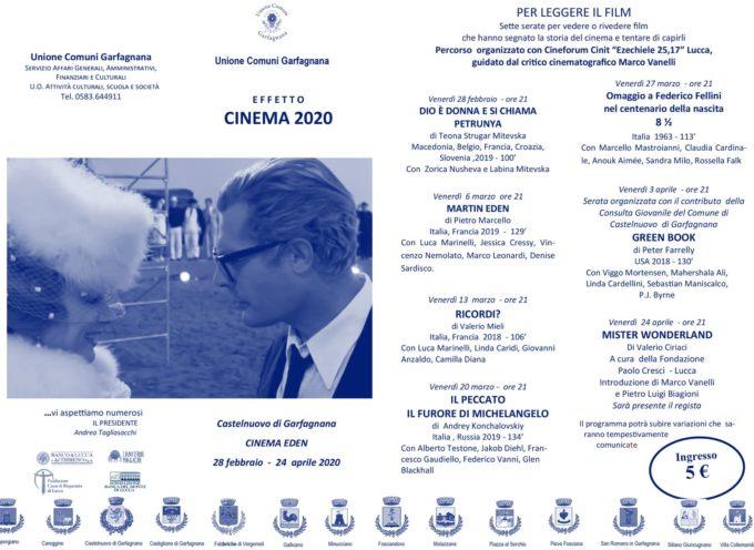 CASTELNUOVO DI GARFAGNANA – PRIMO APPUNTAMENTO.  EFFETTO CINEMA