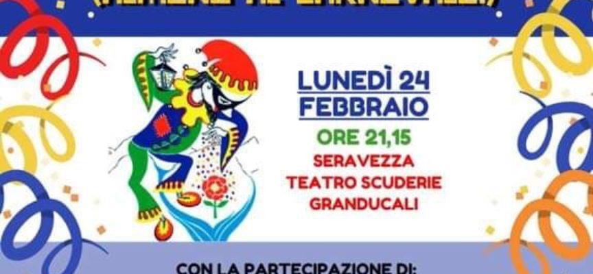 Seravezza – Domenica 23 febbraio ultimo corso in maschera per il Carnevale dei Piccoli e Lunedì 24 Spettacolo di Cabaret alle Scuderie Granducali