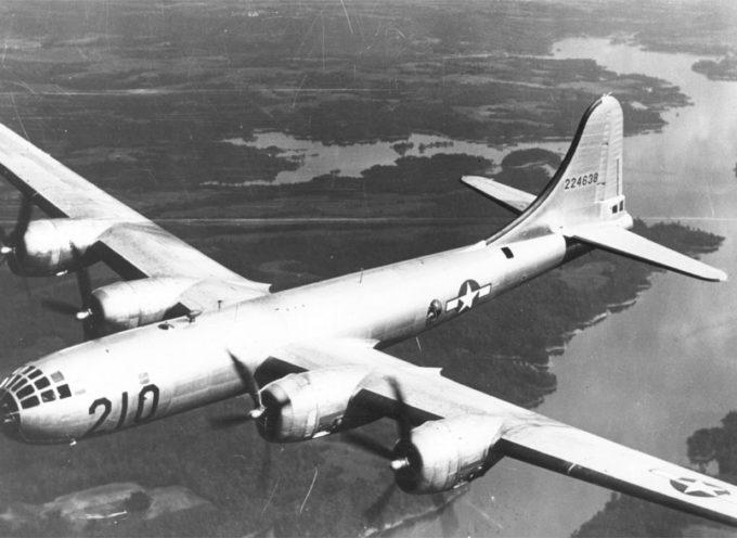 Il carico di morte di un bombardiere americano; 75 anni fa