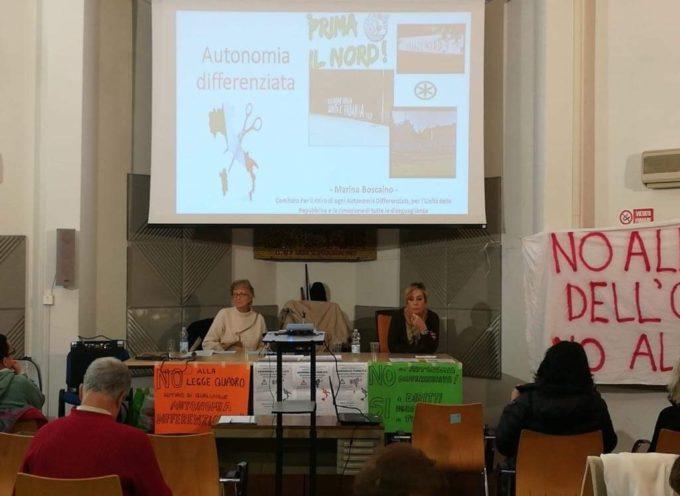 Viareggio – Buona partecipazione all'Assemblea Pubblica a Viareggio contro ogni forma di Autonomia Differenziata
