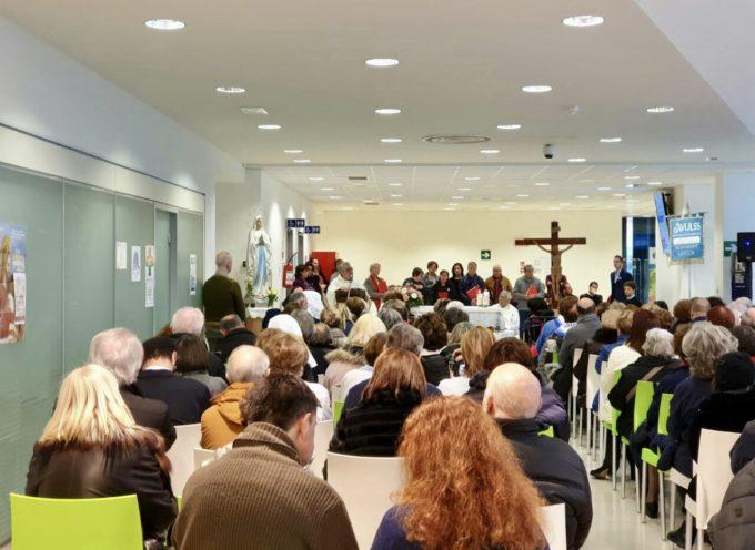 Ospedale di Lucca: tanti cittadini alla Messa per la giornata mondiale del malato