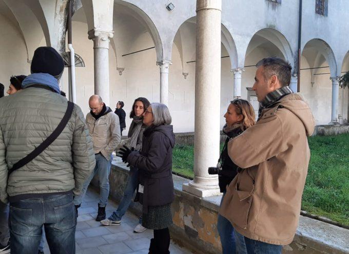 30 dipendenti delle aziende del progetto LU.ME. Lucca Metalmeccanica in visita all'ex ospedale psichiatrico di Maggiano