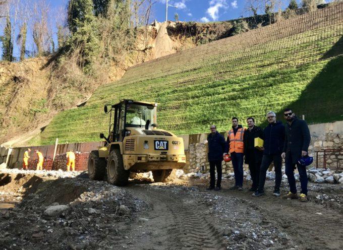 Palmata, il Consorzio investe un milione di euro per mettere in sicurezza l'abitato da una frana attiva sul Solco Grande