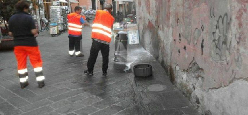 Riprendono a Pescia cicli di pulizia straordinaria della città