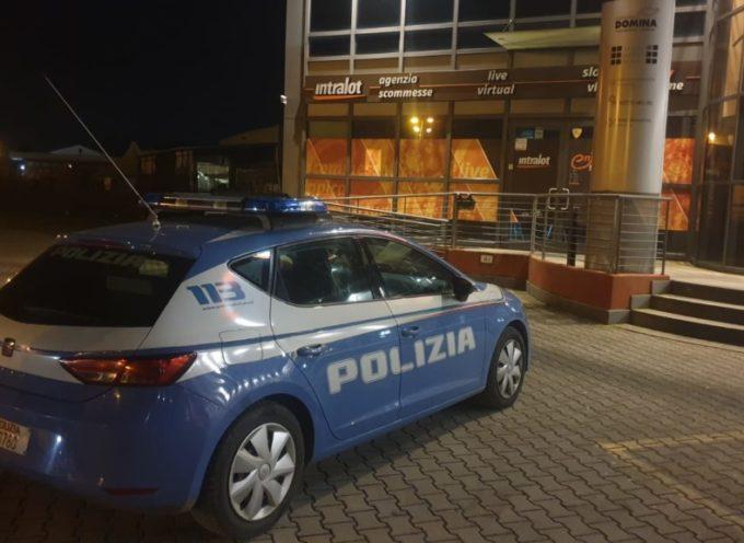 Rapina da 15mila euro nella notte alla sala slot di San Concordio
