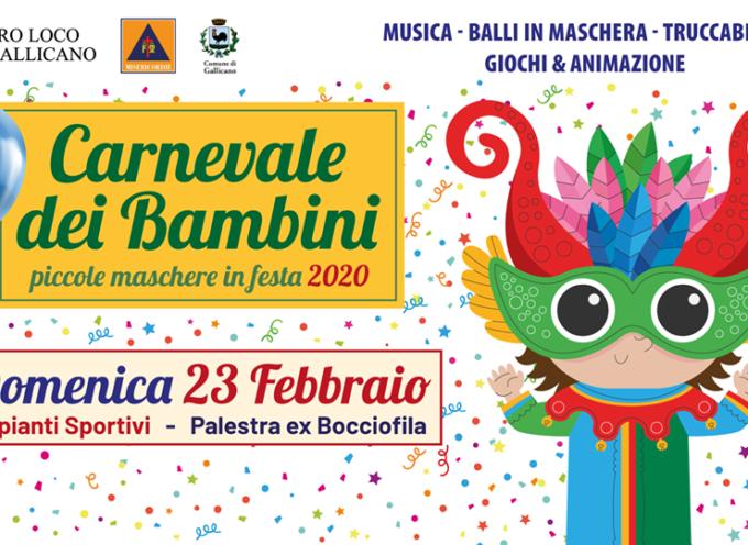 Carnevale dei bambini presso gli Impianti sportivi (ex bocciofila) – Gallicano