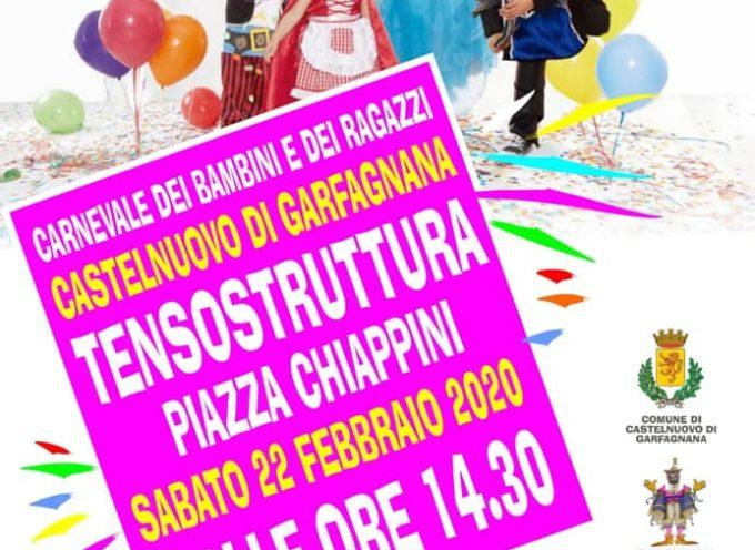 Carnevale dei bambini – presso la Tensostruttura – Piazzale Chiappini – Castelnuovo di Garfagnana