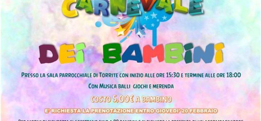 Il Carnevale dei bambini a Torrite – Castelnuovo di Garfagnana