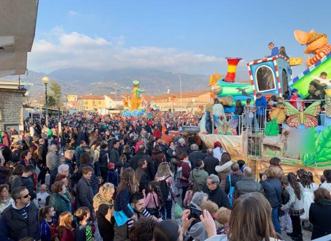 Domenica 9 febbraio secondo corso mascherato del CarnevalMarlia