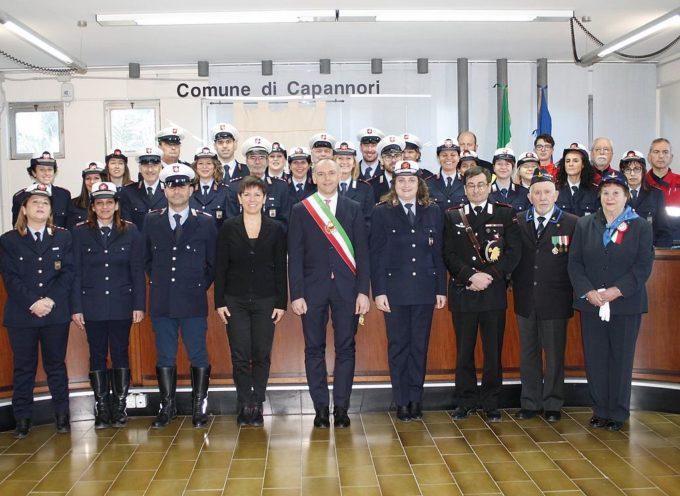 CAPANNORI – I dati più significativi dell'attività svolta dalla polizia municipale nel 2019