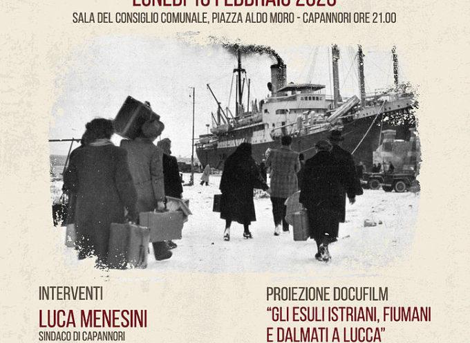 il Giorno del Ricordo, a Capannori