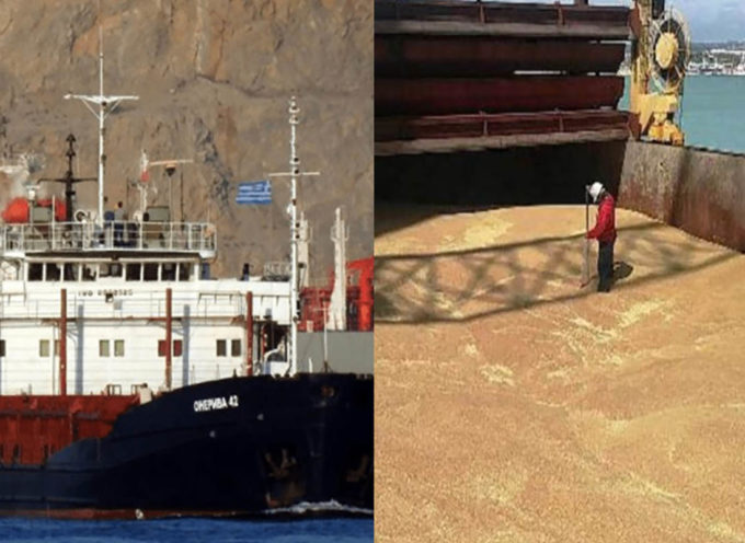 Continuano a sbarcare quintali di grano estero (al glifosato) in Sicilia e Puglia, nel silenzio generale