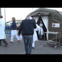 Allestite le tende di pre filtraggio ai pronto soccorso di Lucca e Versilia