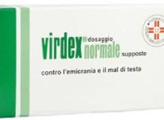 L'AIFA ritira il farmaco contro l'emicrania e il mal di testa VIRDEX. Richiamati 3 lotti.