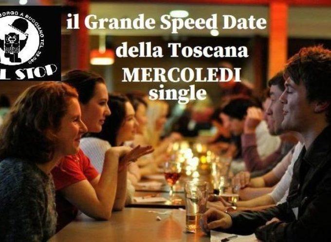 Mercoledi 26 Febbraio organizziamo lo Speed Date presso il Dancing Full Stop a Buggiano