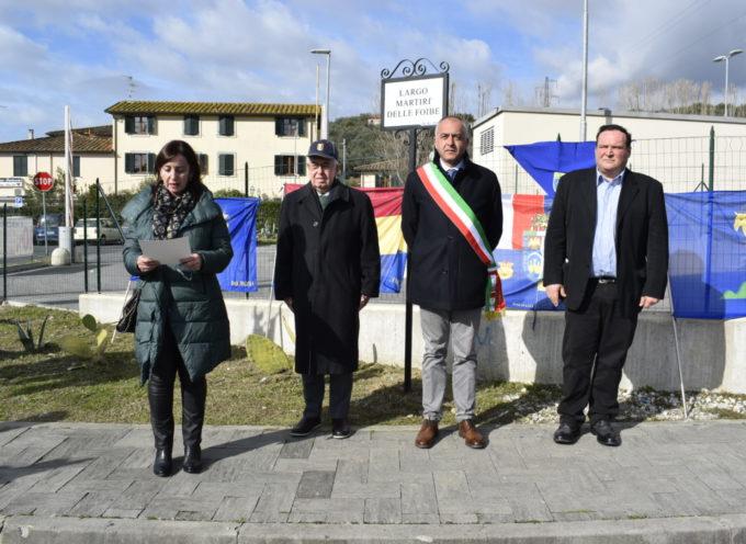 Massarosa, inaugurato Largo Martiri delle Foibe
