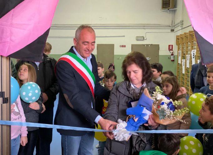 Inaugurata la pavimentazione della palestra delle scuole di Piano di Mommio