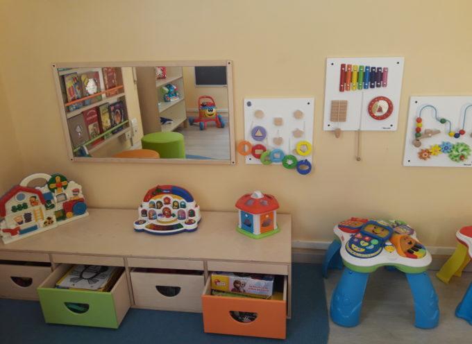 presentata la nuova sala d'attesa della Neuropsichiatria Infantile di Lucca