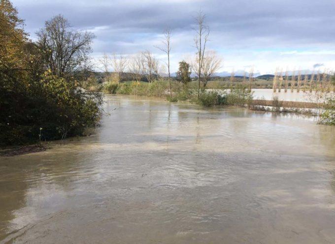 Campi invasi da fiumi e torrenti: così aumenta l'erosione della campagna toscana.