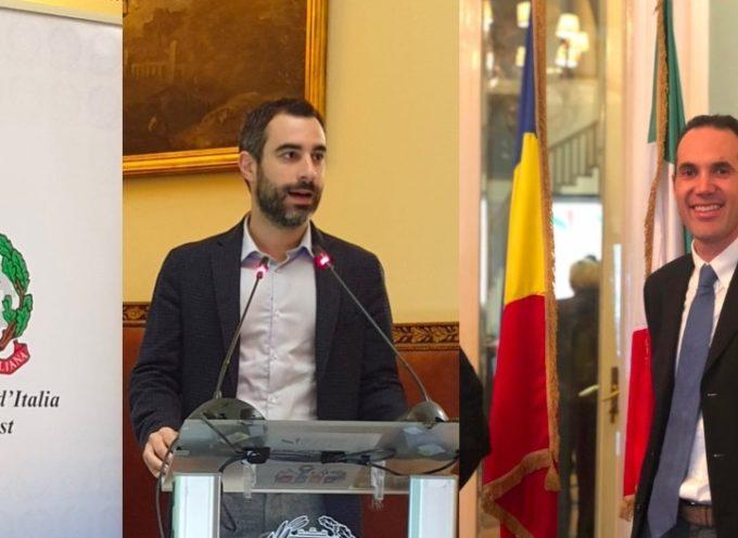 L'assessore Raspini e il dirigente Paoli a Bucarest parlano del sistema lucchese della raccolta differenziata