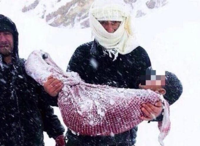 Campi profughi: i bambini muoiono di freddo, ritrovati 7 corpi senza vita