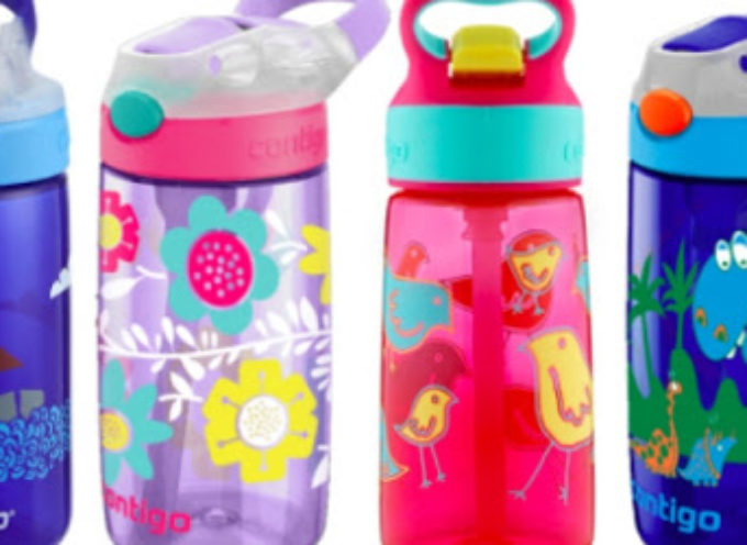 Borracce Contigo Kids: rischioso il tappo! Richiamati 5,7 milioni bottiglie d'acqua per bambini