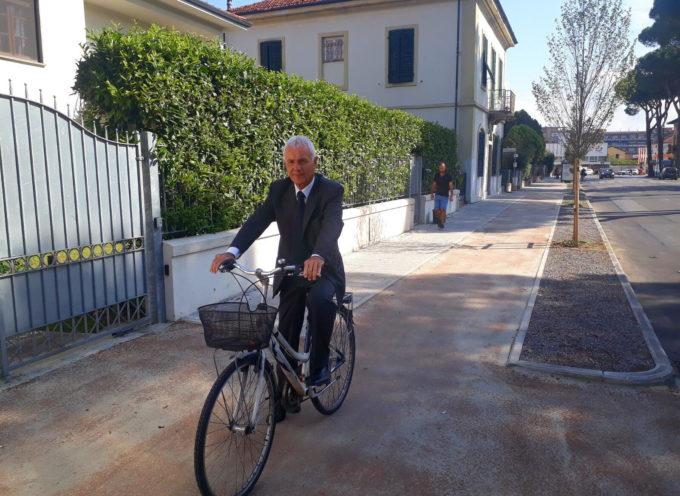 Viale Cadorna: si completa la riqualificazione con gli interventi ai marciapiedi, pista ciclabile e fascia a verde del lato sud
