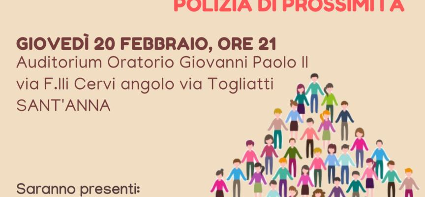 Più agenti nei quartieri e nelle zone periferiche del territorio: nuovo appuntamento con i cittadini per costruire insieme Lucca SIcura a Sant'Anna