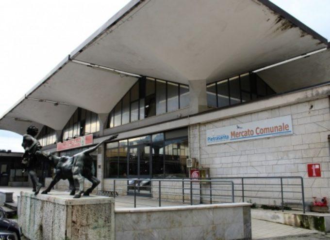 Grandi Opere: Museo Mitoraj, iniziato sgombero ex mercato coperto in vista demolizioni e cantiere