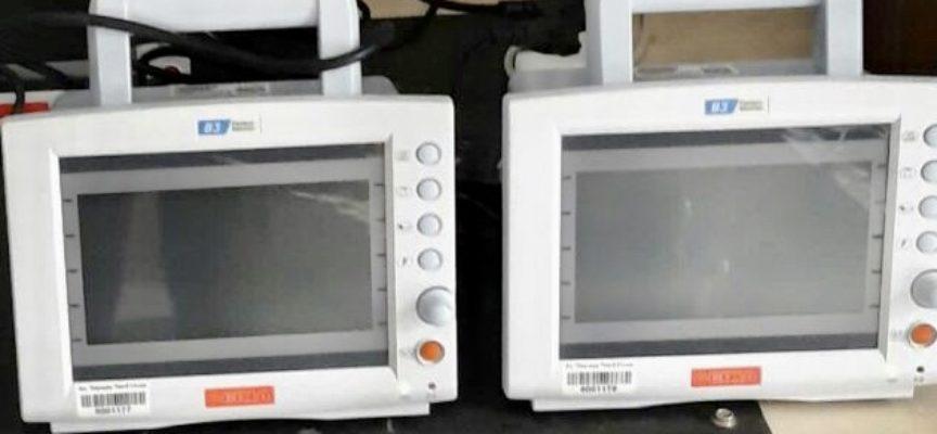 ll Rotary Club di Lucca dona all'ospedale San Luca due monitor ed un sistema ecografico palmare