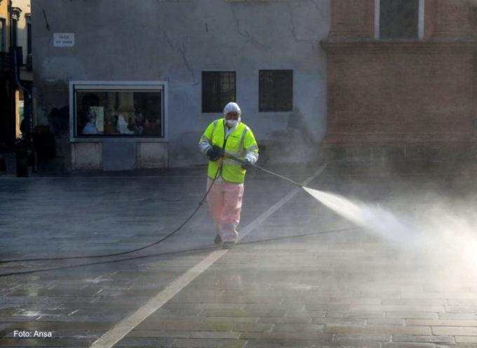 al via lunedì la sanificazione delle strade. Protezione civile reperibile H24: i recapiti telefonici e di posta elettronica