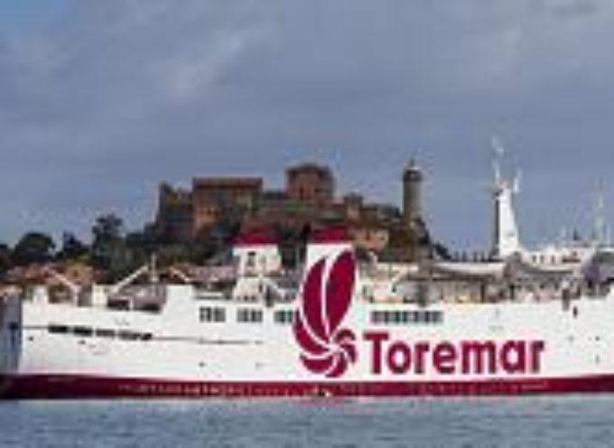 Arcipelago,nessun rischio per i servizi di continuità territoriale gestiti da Toremar