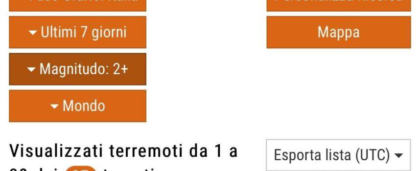 Scossa di terremoto avvertita in tutta la Versilia!